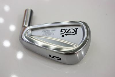KZG より軟鉄鍛造ウェッジとアイアンが発売されました。